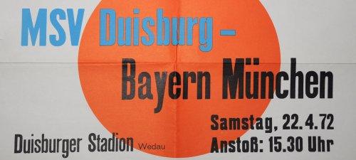 MSV - Bayern 72