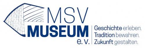 Logo MSV Museum mit Leitspruch