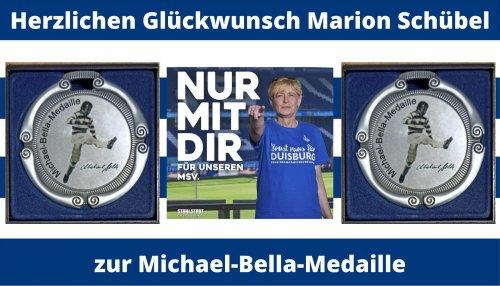Teaser Michael-Bella-Medaille Marion Schübel